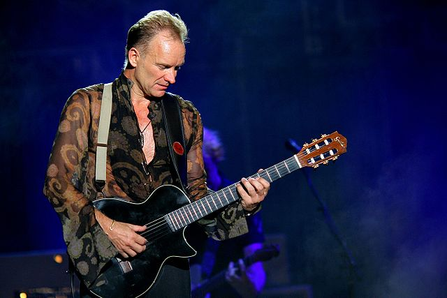 Sting Stands Tall At Batclan Theater Reopening