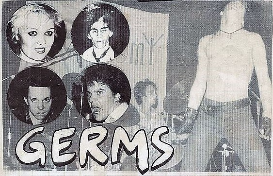 The Great 1970's L.A. Punk Band, The Germs