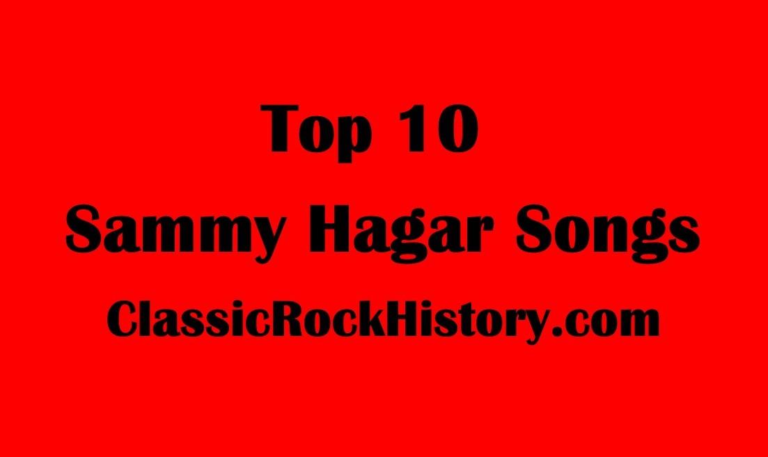 Top 10 Sammy Hagar Songs