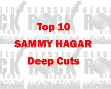 Top 10 Sammy Hagar Deep Cuts