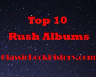 Top 10 Rush Albums