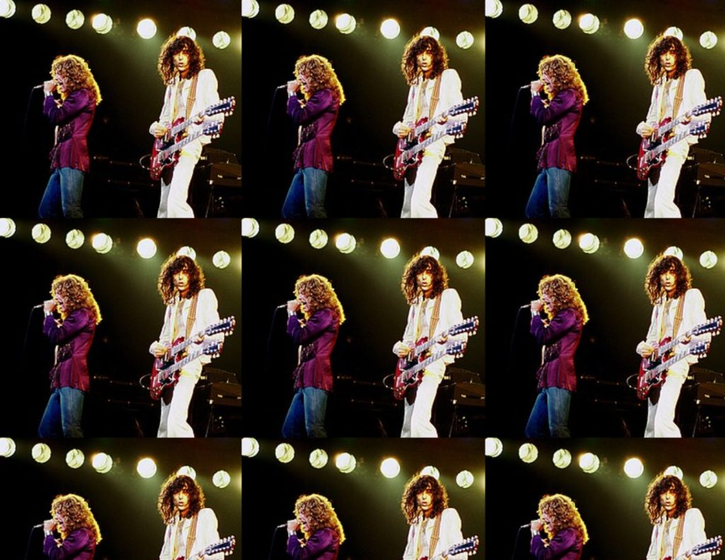 Led Zeppelin Concert 1977