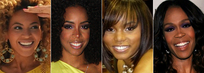 Beyonce and Destiny's Child members