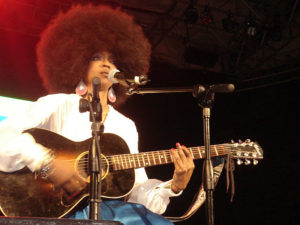 Lauryn Hill of the Fugees